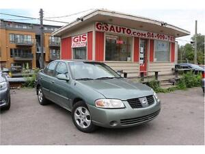 2005 Nissan Sentra 1,8 Special Edition AIR CLIMATISE 160000KM