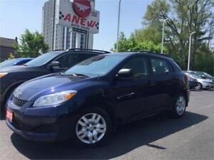 2013 Toyota Matrix | Only 113km | CERTIFIED | AC BLOWS ICE COLD