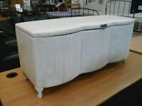 Cream Blanket Box