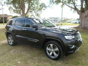 2013 Jeep Grand Cherokee WK MY2014 Overland Black 8 Speed Sports Automatic Wagon Kempsey Kempsey Area Preview