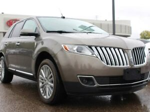 2012 Lincoln MKX ACCIDENT FREE!! DUAL SUNROOF, BACKUP CAM, POWER