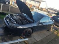 Ford Cougar 2.5 V6, 24 Valve, 2000 Plate, Black, 10 Months MOT, Spares or Repairs