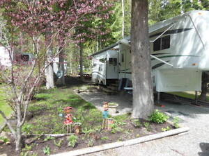 RV Lot for sale on Shuswap River near Mable Lake