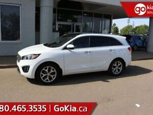 2018 Kia Sorento SX TURBO; PANO ROOF, NAV, HEATED/COOLED SEATS,