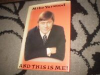 mike yarwood and this is me 1974 first edition signed