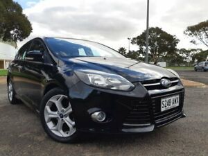 2013 Ford Focus LW MkII Sport PwrShift Black 6 Speed Sports Automatic Dual Clutch Hatchback Gepps Cross Port Adelaide Area Preview