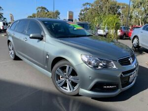 2014 Holden Commodore VF MY14 SV6 Sportwagon Green 6 Speed Sports Automatic Wagon East Bunbury Bunbury Area Preview