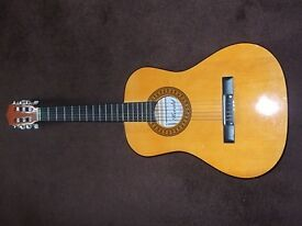 herald acoustic guitar (half size )