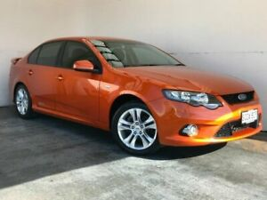 2011 Ford Falcon FG XR6 Orange 6 Speed Sports Automatic Sedan Mount Gambier Grant Area Preview