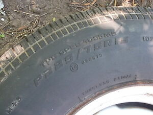 P225/75R15 TIRE AND RIM Cornwall Ontario image 2