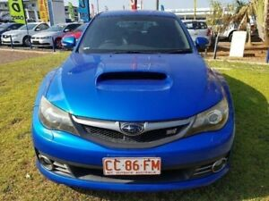 2009 Subaru Impreza G3 MY09 WRX AWD STi Blue 6 Speed Manual Hatchback