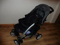Graco grand tourer deluxe pram for sale