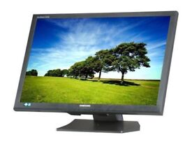 "Samsung SyncMaster S24A450BW 24"" Widescreen LED Backlit LCD Monitor"