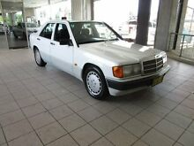 1991 Mercedes-Benz 180 E LIMITED EDITION E Limited Edition White 4 Speed Automatic Sedan Thornleigh Hornsby Area Preview