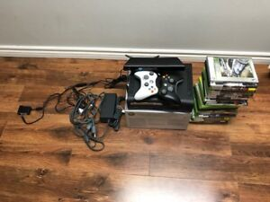 XBOX 120GB Gaming Console and Kinetc Sensor