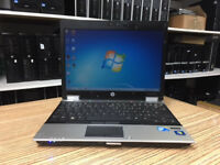 HP Elitebook 2540p Core i7 2.13GHz 4GB RAM 160GB HDD 12 inch Win 7 Laptop