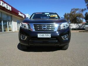 2018 Nissan Navara D23 S3 ST Cosmic Black Sports Automatic Utility Broken Hill Central Broken Hill Area Preview