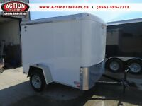 GREAT SIZE - easy to store - 2015 Atlas 6 x 8 enclosed cargo