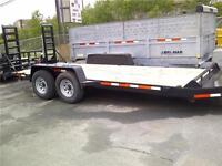 2015 Brimar 18' Equipment Trailer