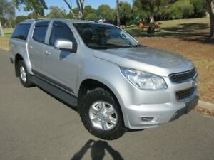 2013 Holden Colorado RG MY13 LT Crew Cab Silver 6 Speed Sports Automatic Utility Old Reynella Morphett Vale Area Preview