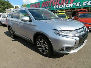 2016 Mitsubishi Outlander ZK MY16 LS (4x4) Silver Continuous Variable Wagon Mount Gravatt Brisbane South East Preview