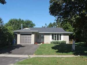 Gorgeous 2 bedroom lower floor bungalow West End Guelph