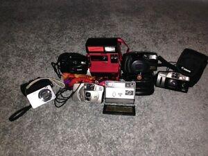Cameras.Collectors! 7 very good condition cameras. (with covers)