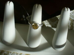 Pretty Citrine Ring, size 7