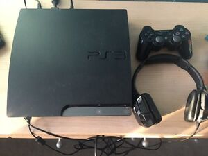 PS3 for sale.  Great condition