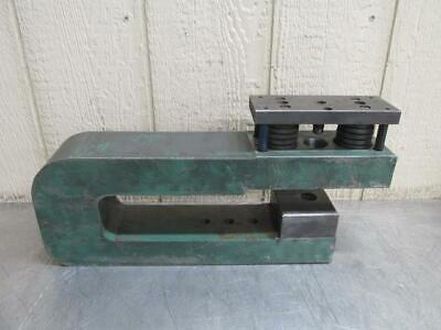 Unipunch 12ah-4 Punch Press C-frame Die Set Shoe 12 Throat 4 Wide