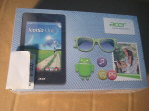 acer iconia one 7 inch tablet. Brand new. 1.6 Ghz intel processo