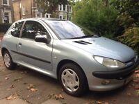 Brilliant new condition Peugeot 206 for sale