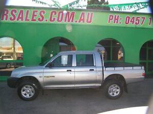 2003 Mitsubishi Triton MK MY03 GLX Double Cab 4 Speed Automatic Dual Cab Nailsworth Prospect Area Preview