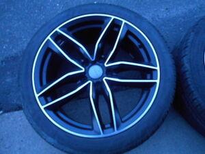 Audi VW 18 inch alloy rims, tires