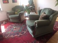 Gorgeous Green Armchairs (2)!
