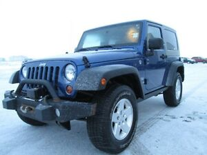 WOW. 2010 JEEP WRANGLER SPORT. V6, AUTOMATIC, HARDTOP, WINCH, A