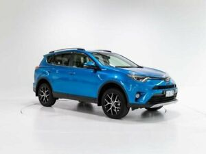 2017 Toyota RAV4 ZSA42R MY17 GXL (2WD) Blue Gem Continuous Variable Wagon Cooee Burnie Area Preview