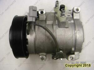 AC Compressor 4-Cylinder Toyota Highlander 2001-2007
