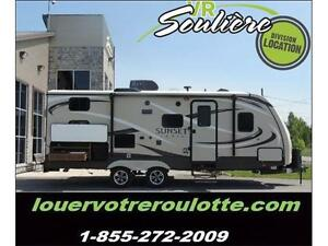 vr souliere location roulotte tente fifth wheel motorise louer