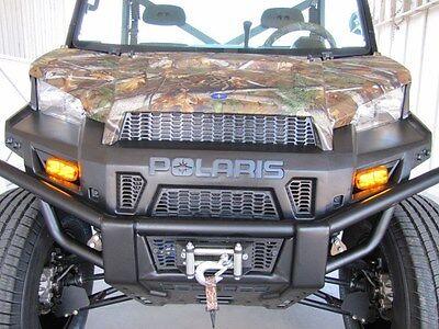 5F4R Street Legal Kit Turn Signal Horn Plate 15-18 Polaris Ranger XP Crew Diesel