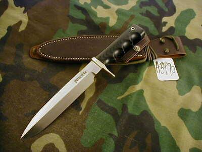 "RANDALL KNIFE KNIVES #16-7"" DIVER,SS,TN,BSH,BLACK MICARTA,FG,WT,WX.SH. #A3490"