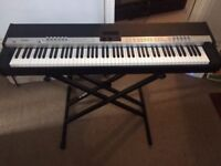 Yamaha CP5 Stage Piano with Roland KC-220 Amp