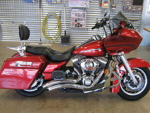 "2008 Harley Roadglide! Stretched Bags! 106"" Zipper Engine!"