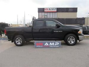 2012 Ram 1500 4X4 4.7L ROOF LIGHTS AND RACK ACCESSORY NICE TIRES