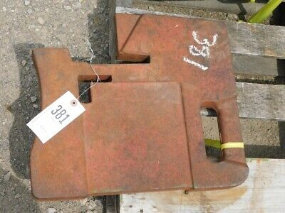 International Harvester Aftermarket Foundry 100 Lb. Suitcase Weight Tag 381