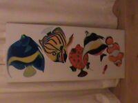 Fish canvas