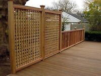 Fence & Deck Installation - End of Season Discount