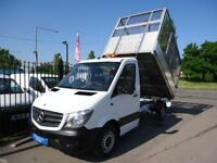 2014 64 MERCEDES-BENZ SPRINTER 2.1TD 313CDI MWB ALLOY CAGED TIPPER