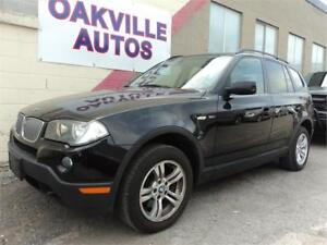 2008 BMW X3 3.0i AWD PANORAMIC ROOF SAFETY WARRANTY INCL