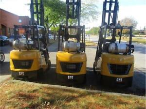 FORKLIFT PROPANE 2012 CAT 2C5000 CHARIOT ELEVATEUR USED